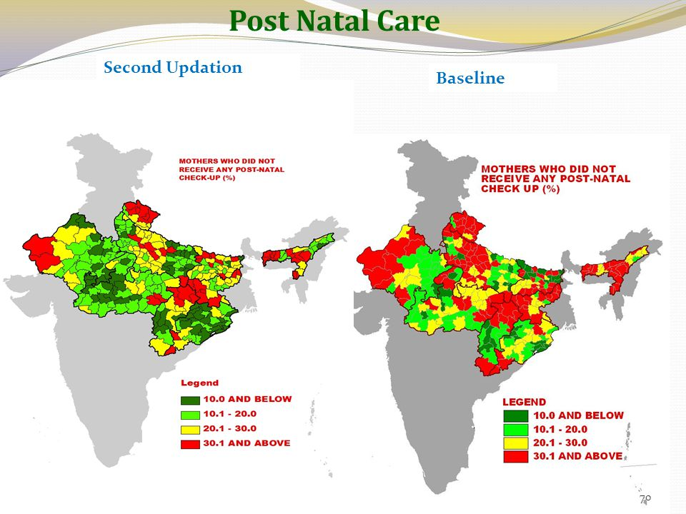 Post Natal Care Second Updation Baseline 70