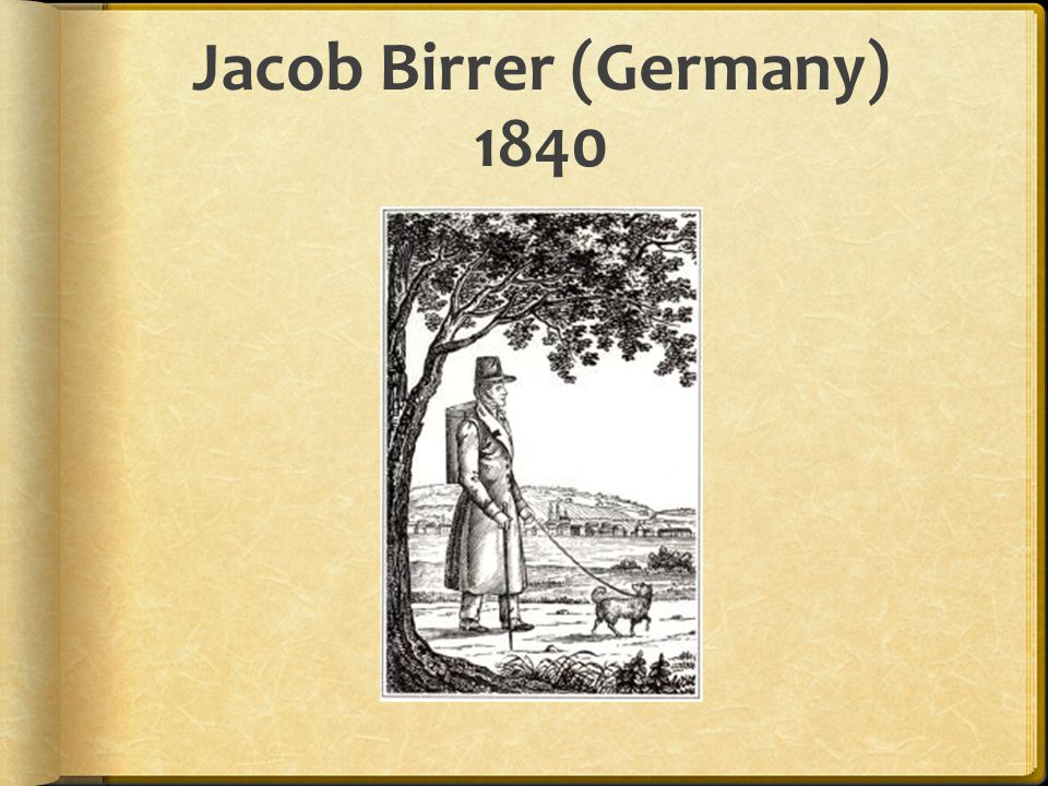 People  Germans pre-dated everyone in the dog guide business (WW I).