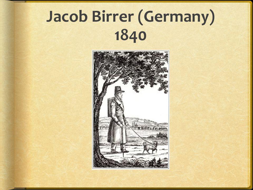 Jacob Birrer (Germany) 1840