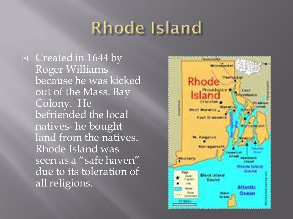  1636 Thomas Hooker founded the town of Hartford.