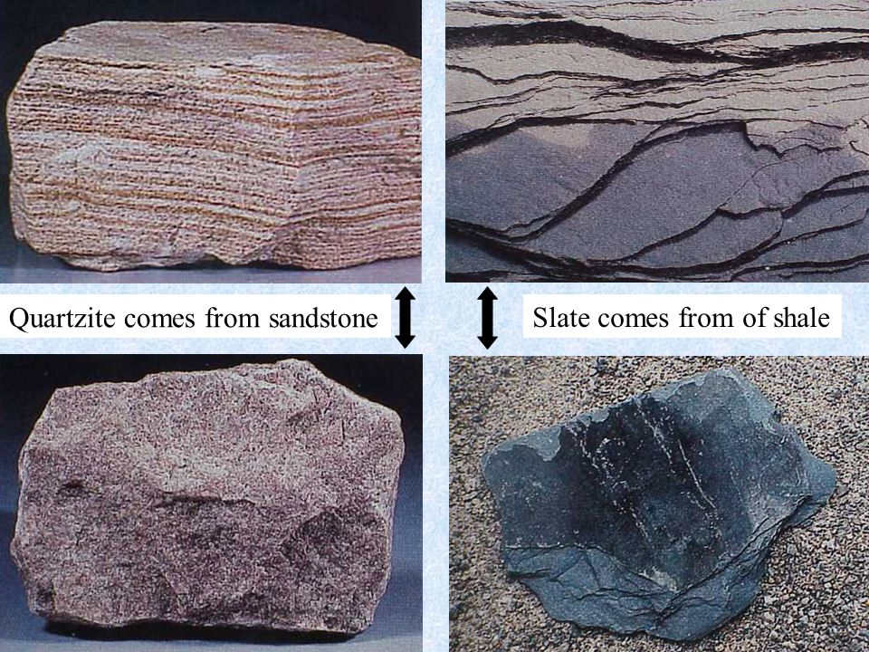 Gneiss (metamorphic)Granite (igneous) stress hornblende Metamorphic Rocks The Composition of Earth