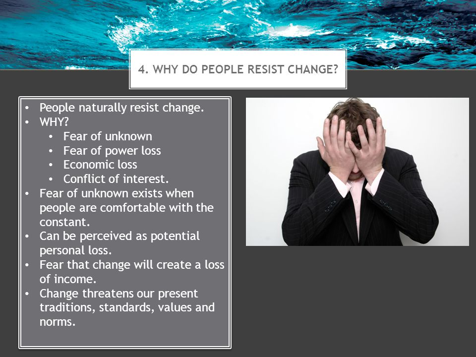 5.HOW DO LEADERS FACILITATE CHANGE. Leadership support is critical for successful change.