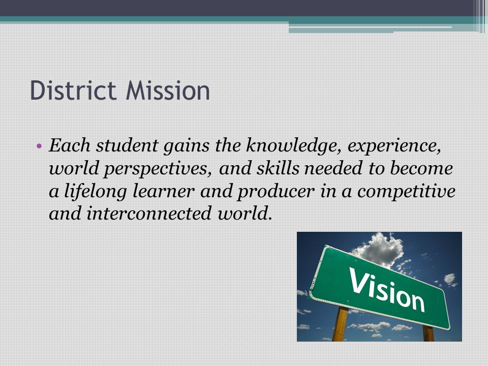 Our mission is focused through 5 Strategic Goals….