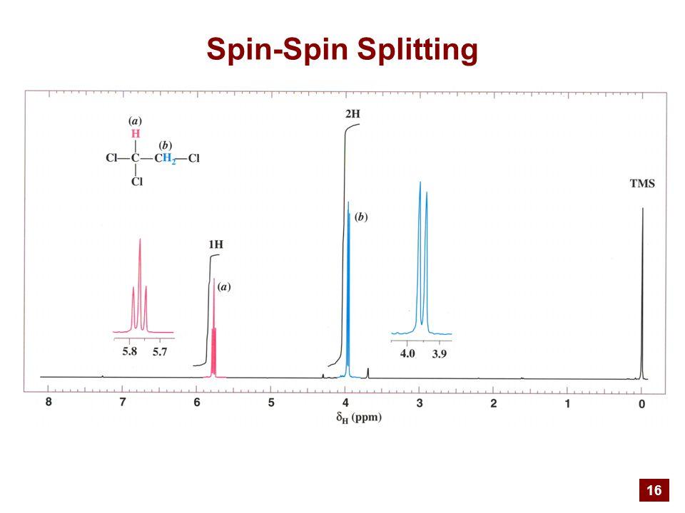 16 Spin-Spin Splitting