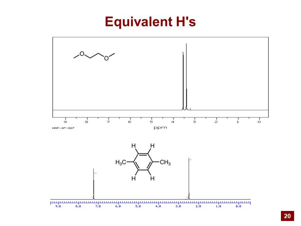 20 Equivalent H s