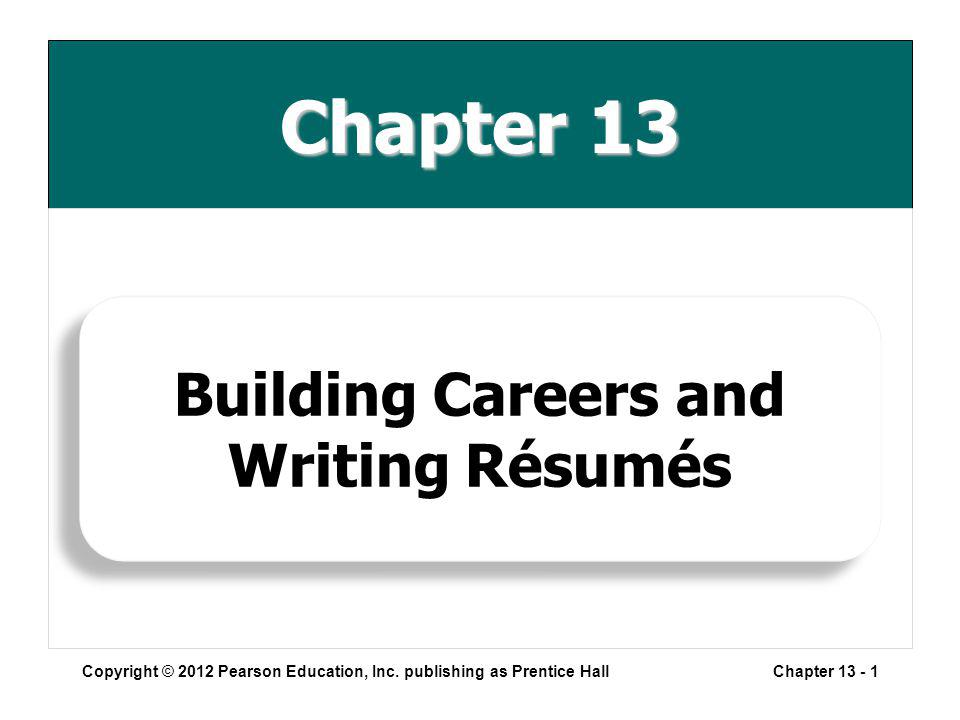 Chapter 13 Copyright © 2012 Pearson Education, Inc.