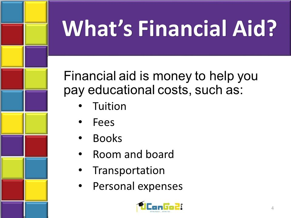 What's Financial Aid.