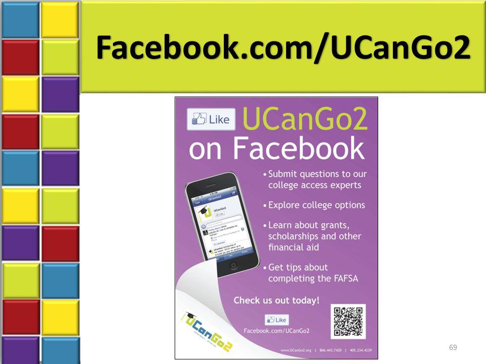 Facebook.com/UCanGo2 69