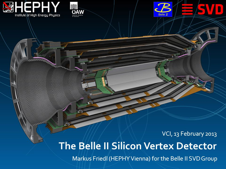13 February 2013M.Friedl (Belle II SVD Group): The Belle II SVD2 Introduction Front-End Electronics Performance Summary