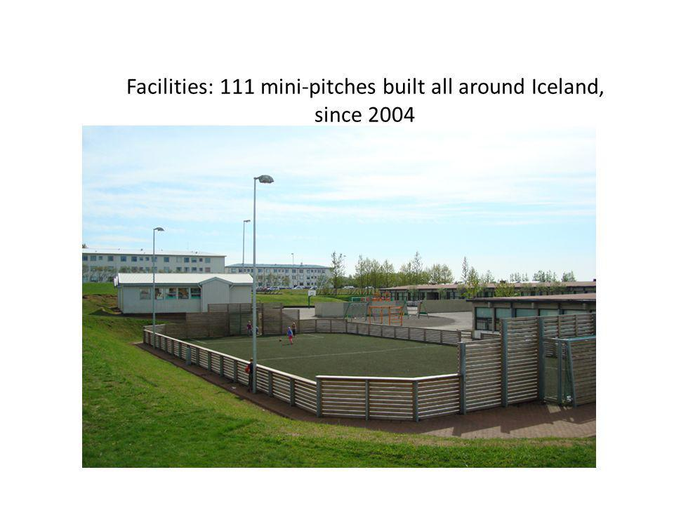 Icelandic Football Longest pre-season in the world (7 months) One of the shortest football season in the world (May 6th - September 30th).