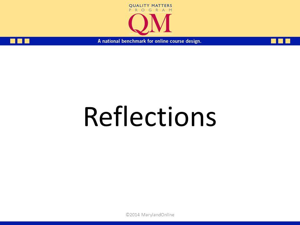 Reflections ©2014 MarylandOnline