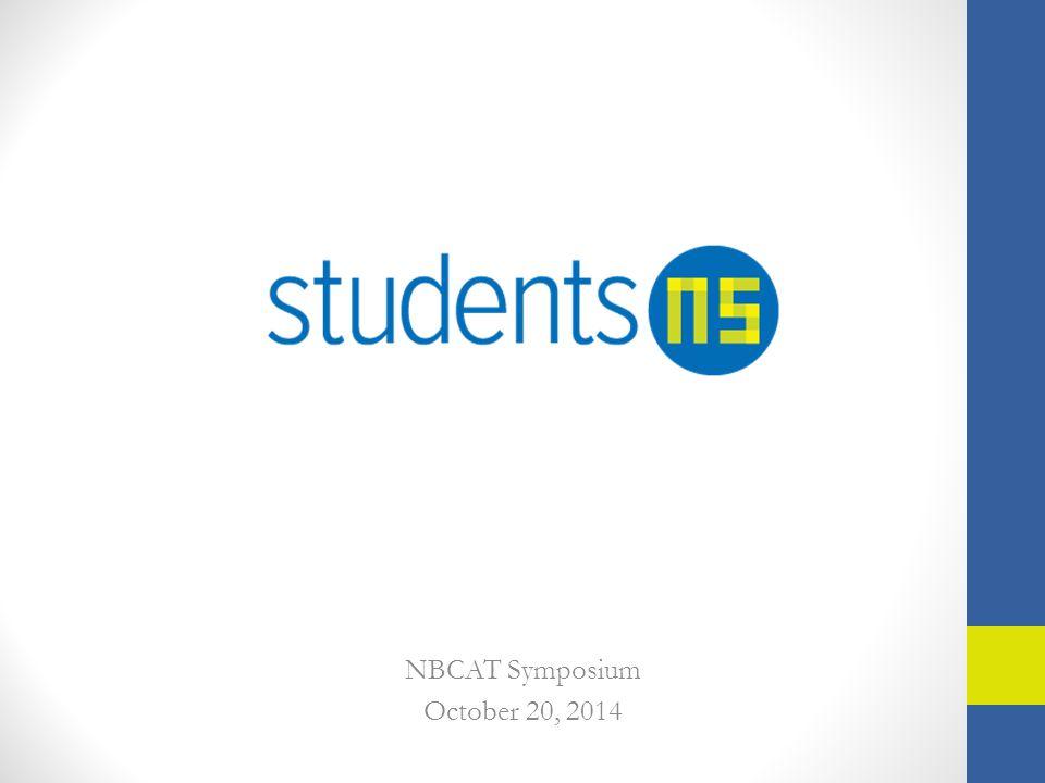 NBCAT Symposium October 20, 2014