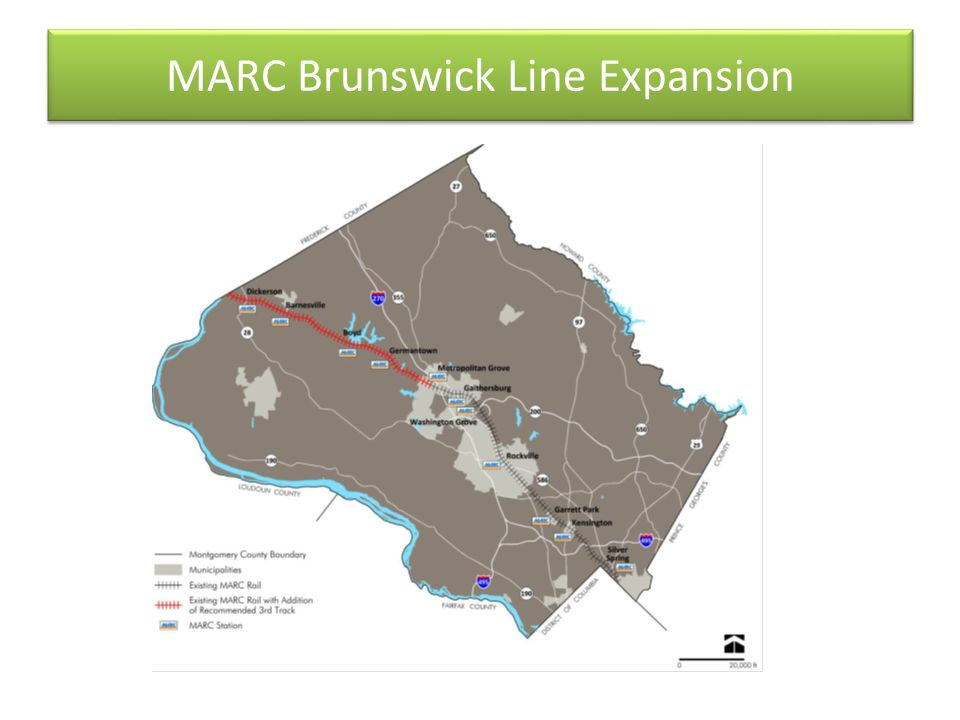 MARC Brunswick Line Expansion