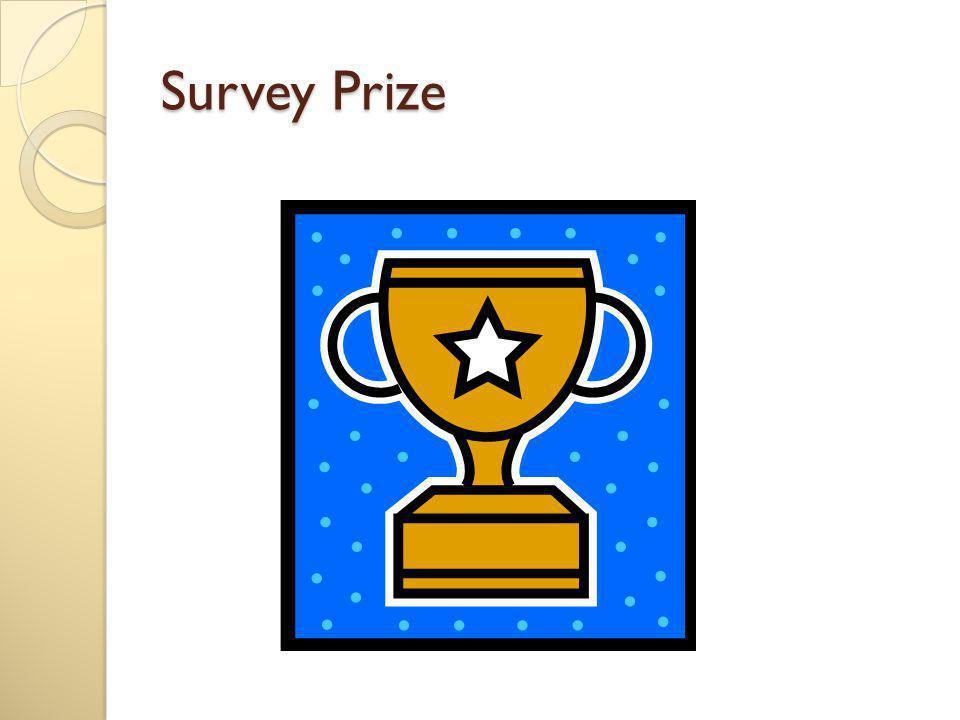 Survey Prize