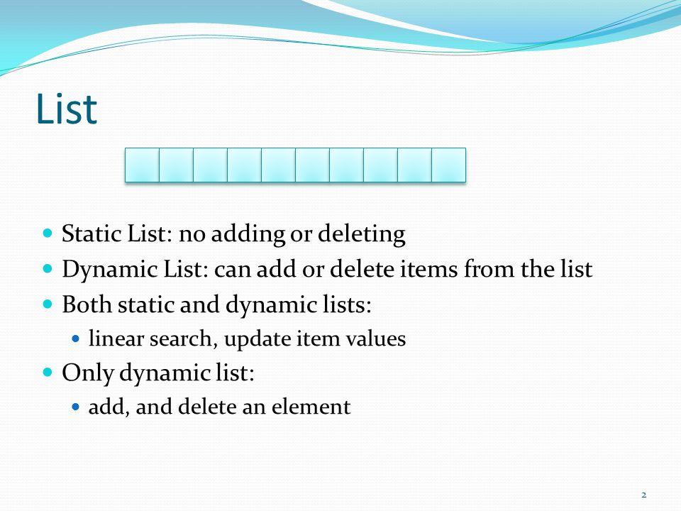 Add an object to the list Student stuList[MAX_STUDENTS]; int numStudents; numStudents = 4 MAX_STUDENTS = 10 stu int Add( const Student& stu ) { if ( Find( stu ) == -1 && numStudents < MAX_STUDENTS ) { stuList[numStudents] = stu ; numStudents ++; return 0; } return -1; } numStudents = 5 3
