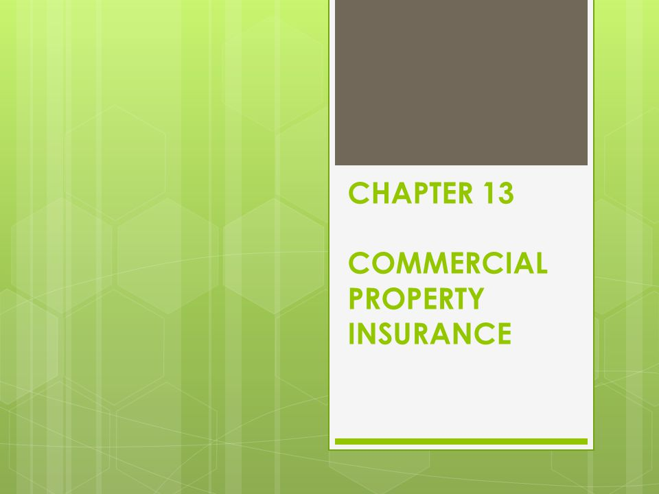 Scheduled Rating analysis each property individually and is used primarily in rating commercial building.