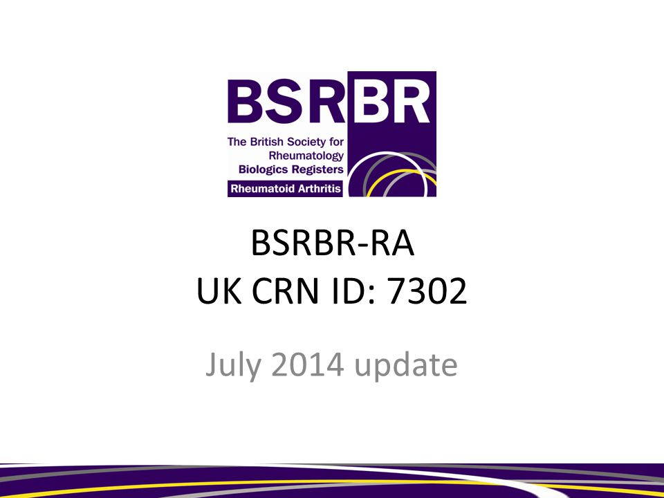 BSRBR-RA UK CRN ID: 7302 July 2014 update