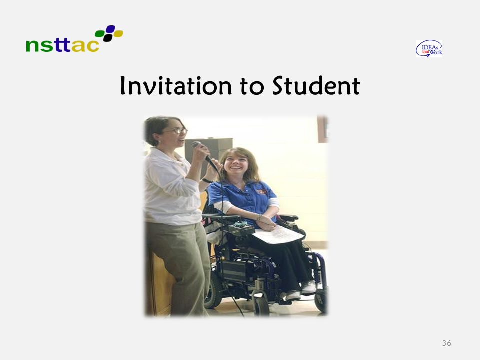 36 Invitation to Student