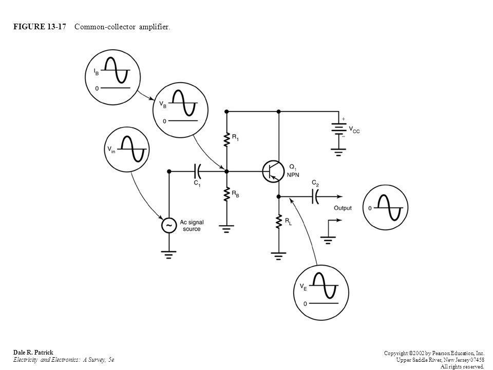 FIGURE 13-17 Common-collector amplifier. Dale R.