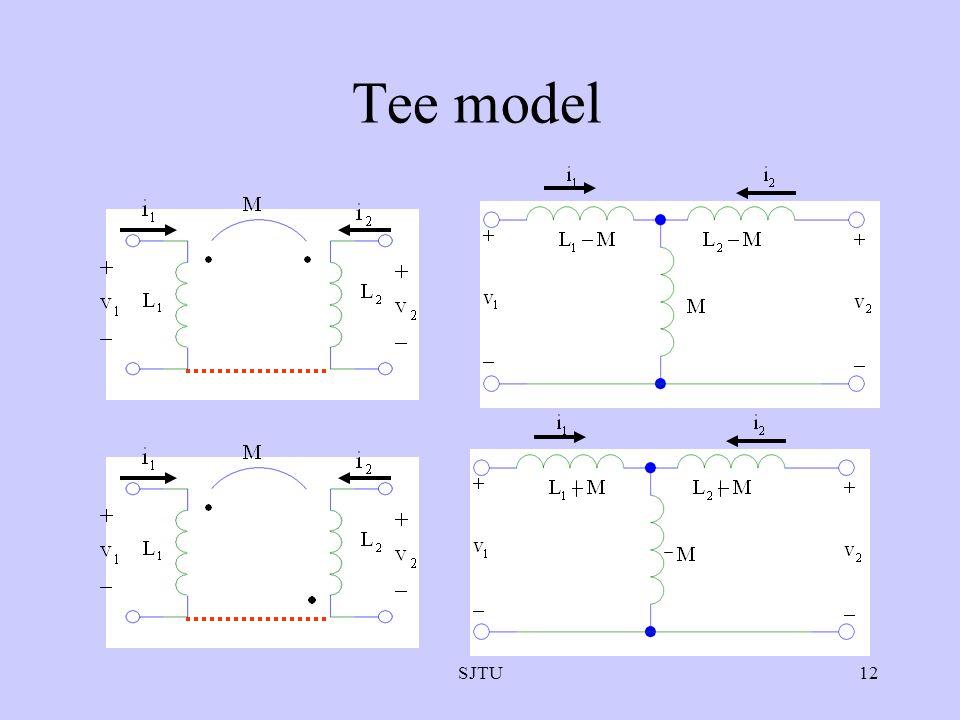 SJTU12 Tee model
