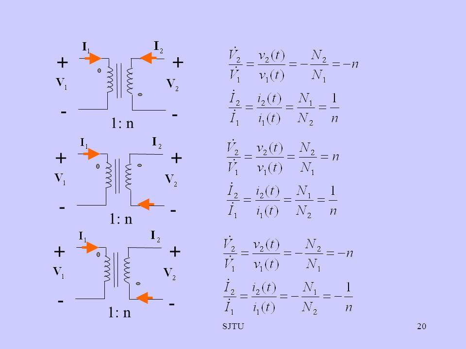SJTU20 + - + - 1: n + - + - + - + -