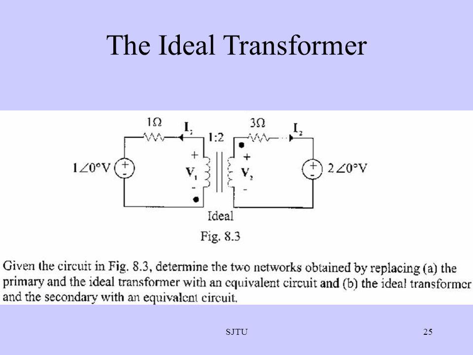 SJTU25 The Ideal Transformer