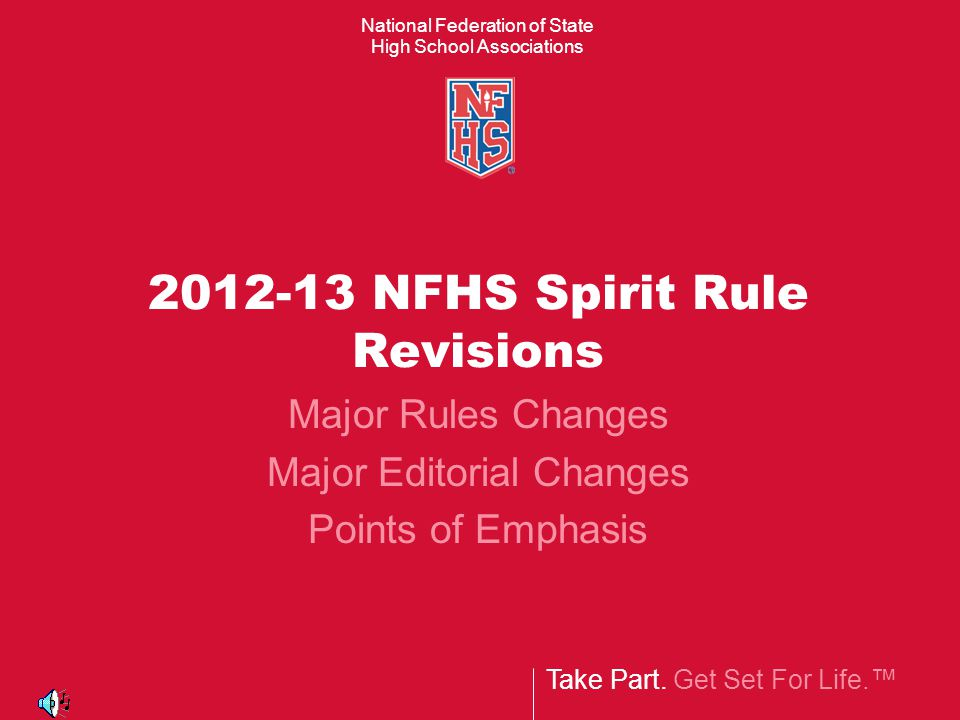 Major Spirit Rules Revisions Rule 2-9-8 and 2-11-1 12 3 Legal (single-twist)