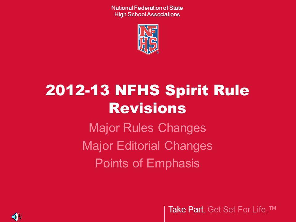 Major Spirit Rules Revisions Rule 2-5-2 12 3 Legal