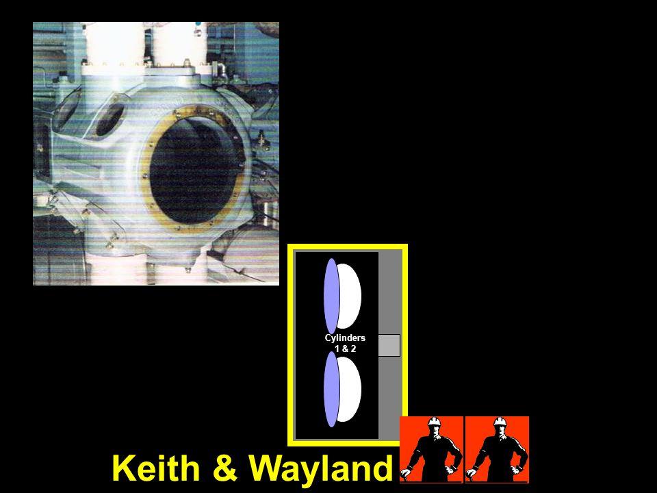 Cylinders 1 & 2 Keith & Wayland