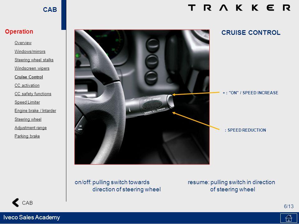 CAB 6/13 CAB Iveco Sales Academy + :