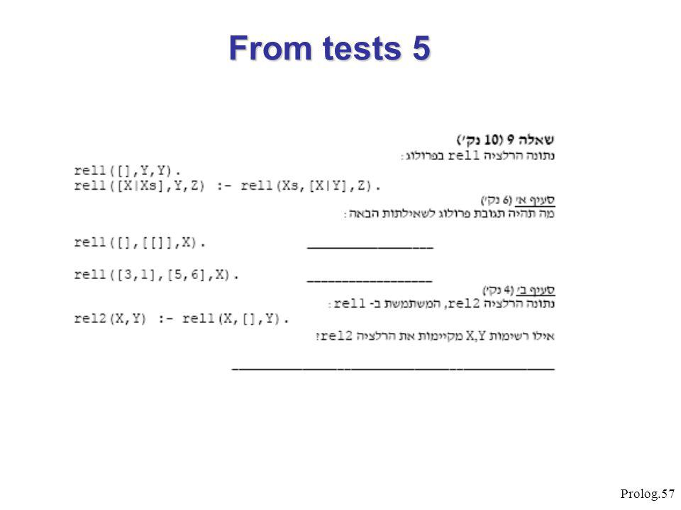 Prolog.57 From tests 5