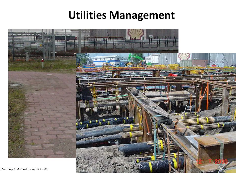 Utilities Management Courtesy to Rotterdam municipality