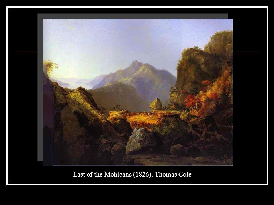 Last of the Mohicans (1826), Thomas Cole