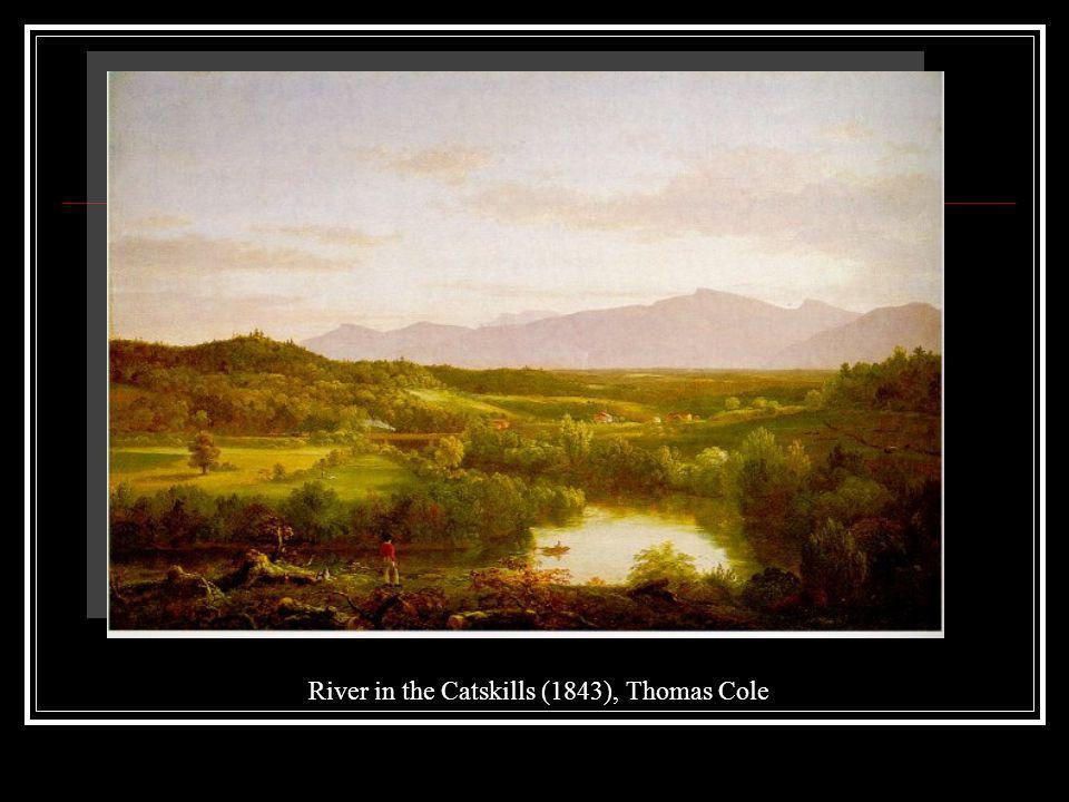 River in the Catskills (1843), Thomas Cole