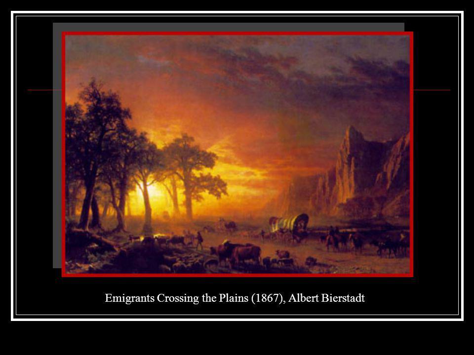 Emigrants Crossing the Plains (1867), Albert Bierstadt