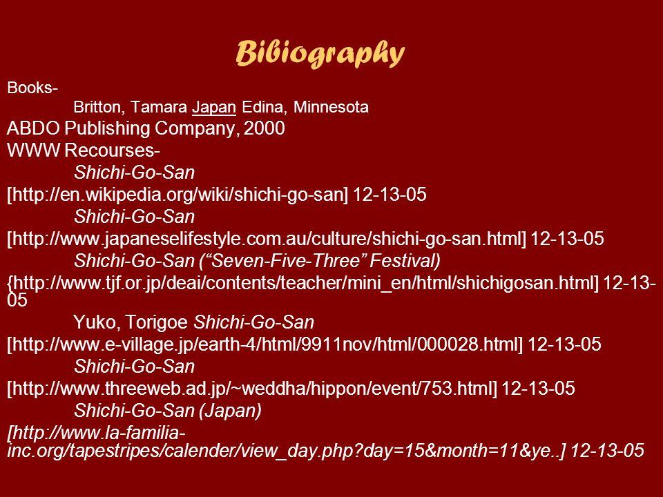 Glossary Shichi-Go-San- Seven, Five, Three.