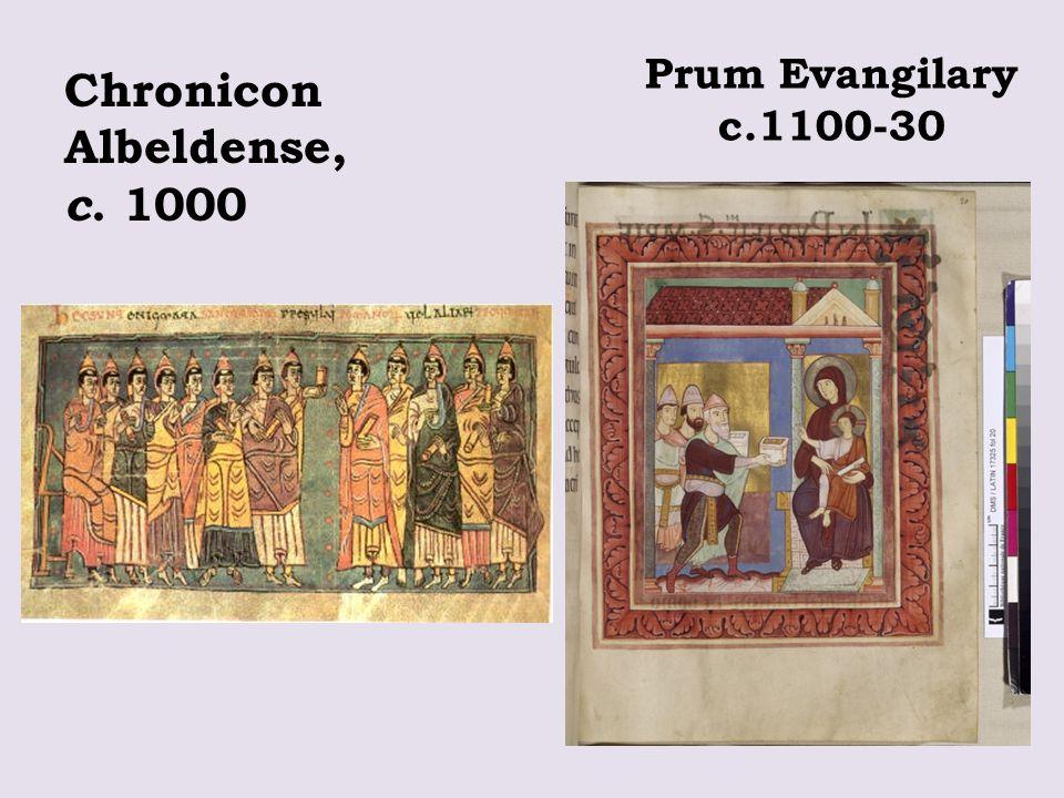 Prum Evangilary c.1100-30 Chronicon Albeldense, c. 1000