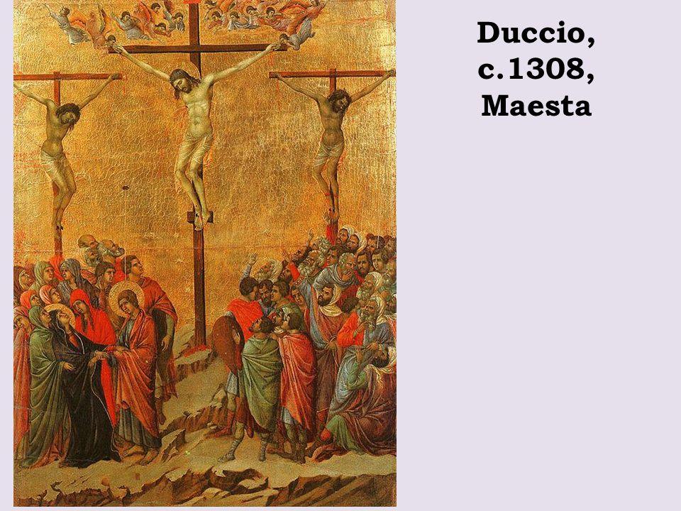 Duccio, c.1308, Maesta