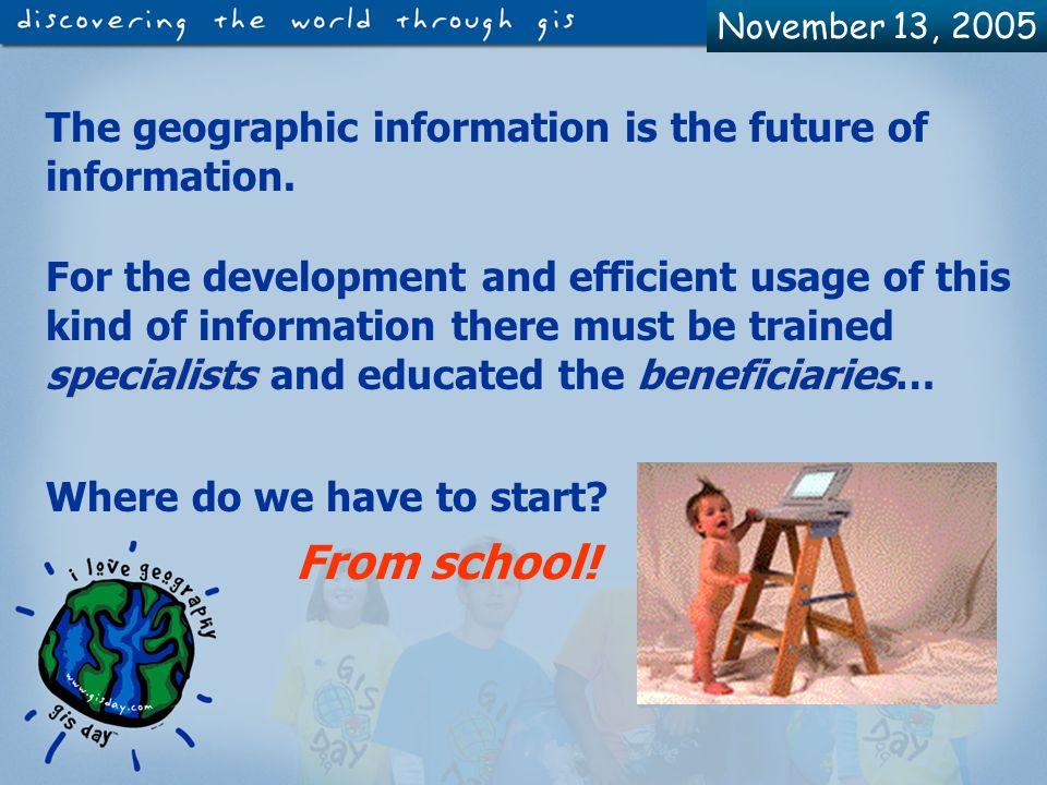 November 13, 2005 Who can use ArcView GIS.