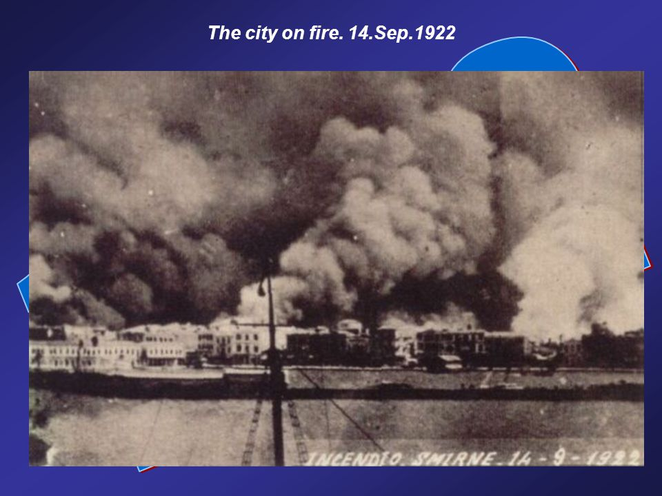 The city on fire. 14.Sep.1922