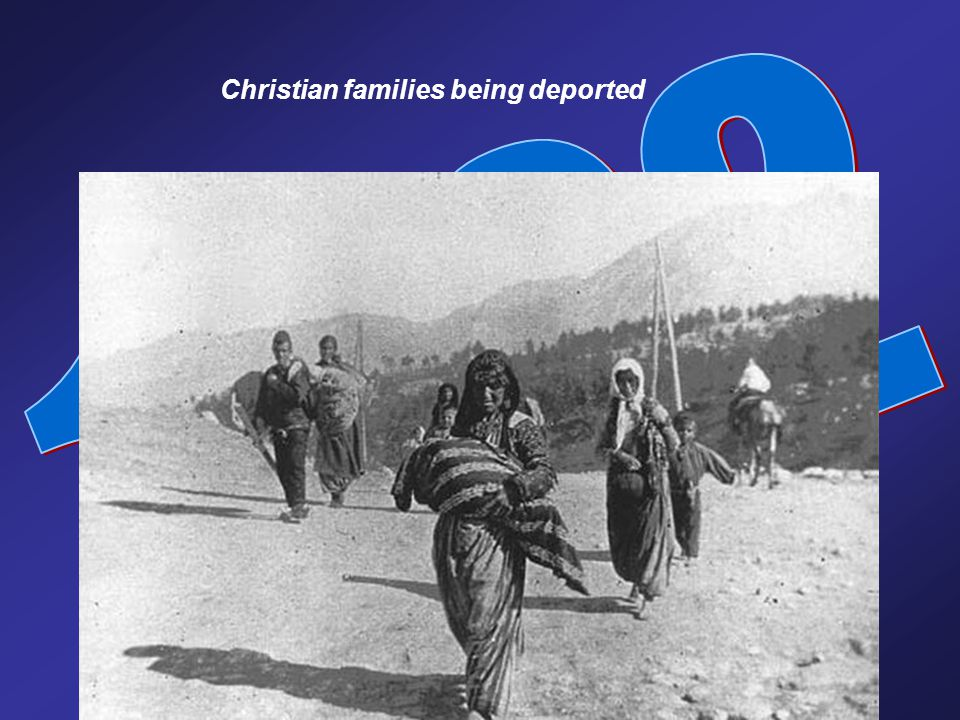 Christian families being deported