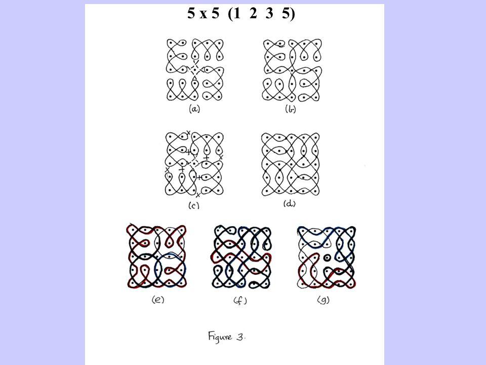 5 x 5 (1 2 3 5)
