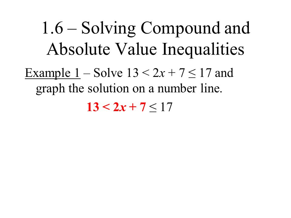 Example 3 (a) Solve |a| < 4.Graph the solution on a number line.