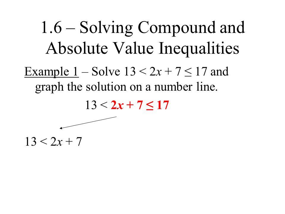 y – 2 > -3 or y + 4 ≤ -3