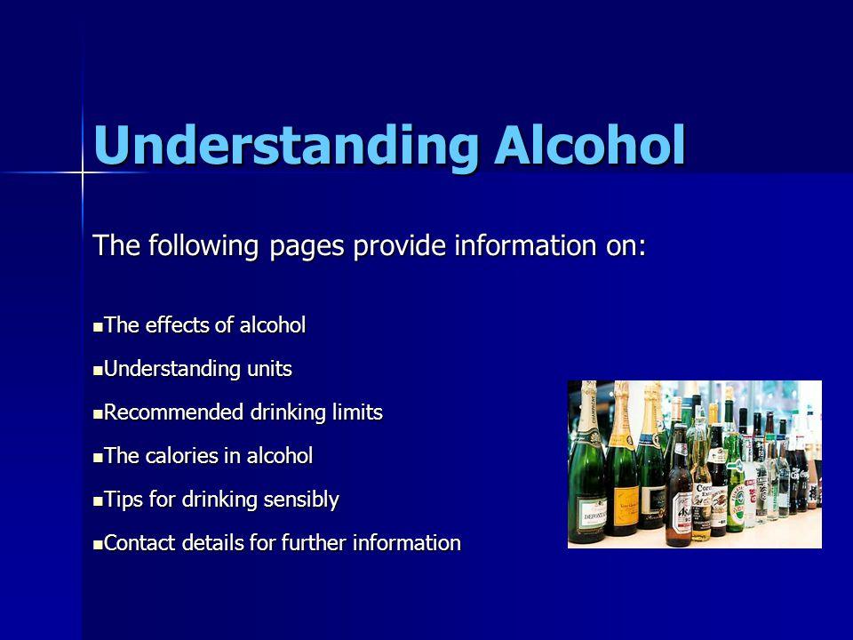 Understanding Alcohol.