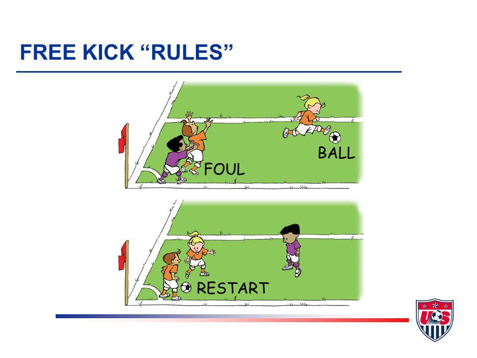 FREE KICK RULES
