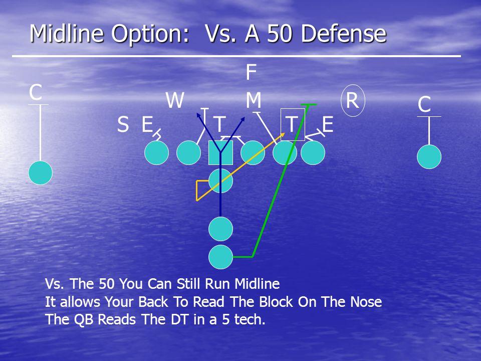 Midline Option: Vs.A 50 Defense ETETS MWR C C F Vs.