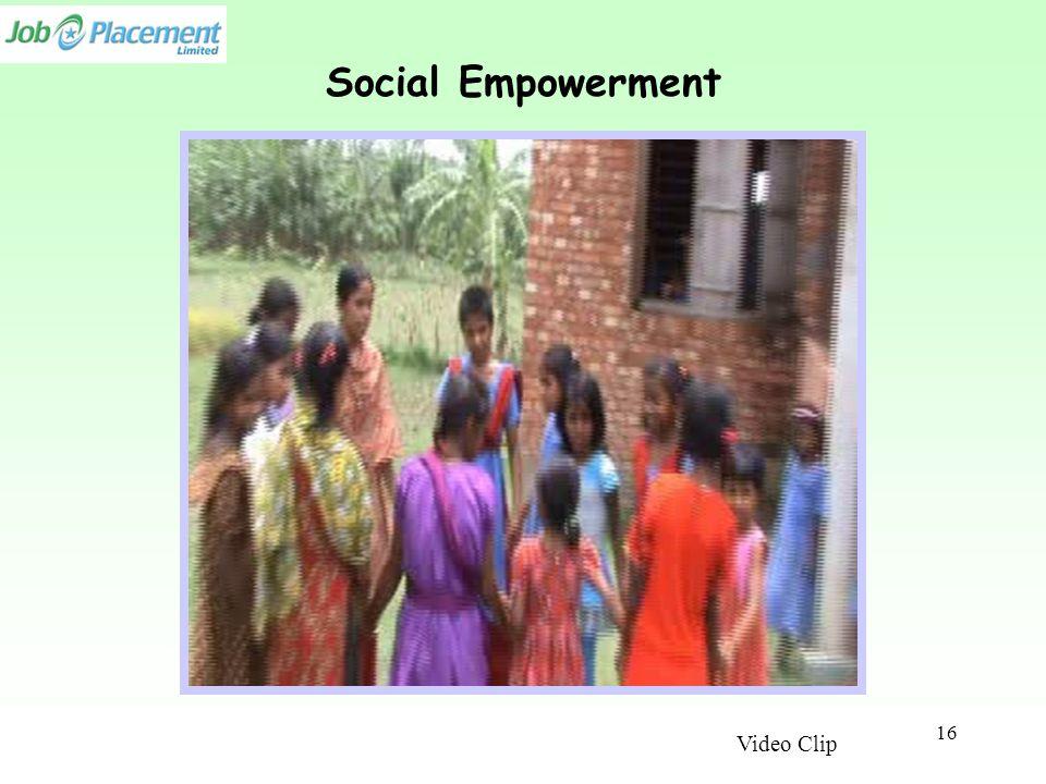 Social Empowerment Video Clip 16