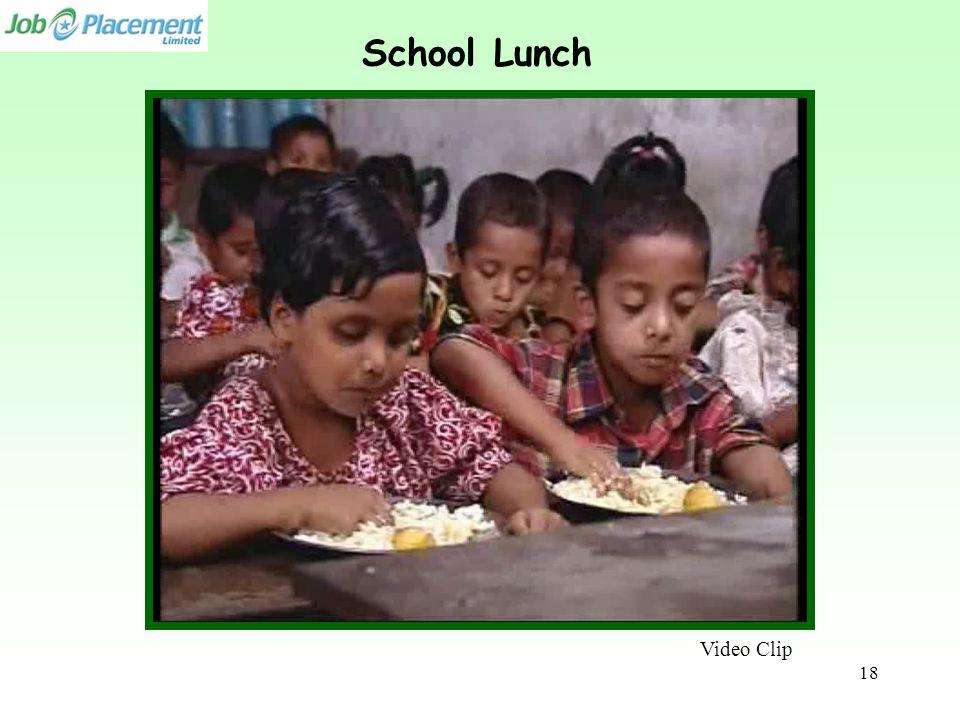 Video Clip School Lunch 18