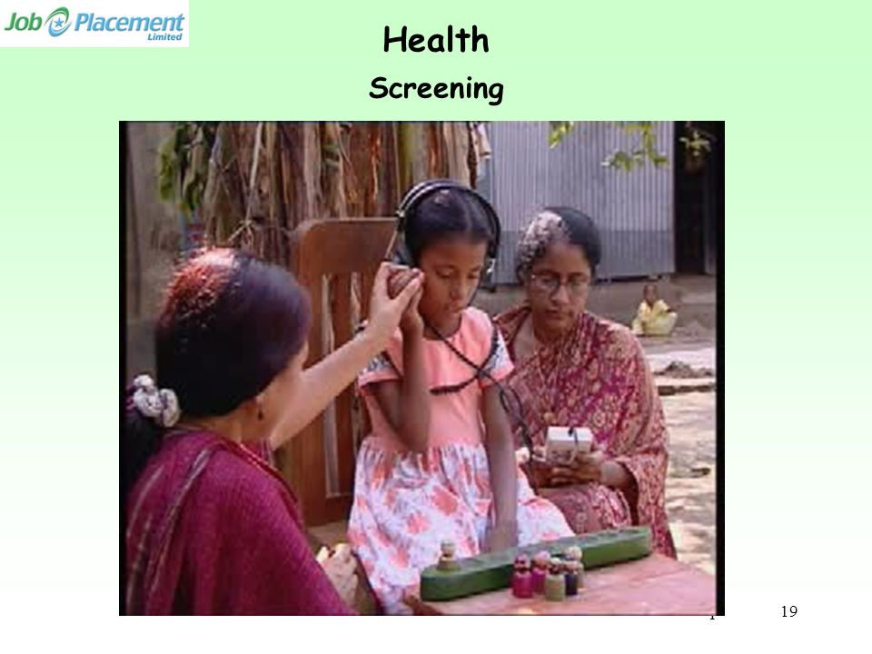 Health Screening Video Clip 19